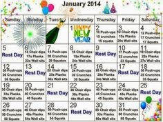 Fit & Faboosh Blog: Nothing like a challenge - January 2014