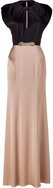 Blackbaileys Embellished Silk Gown - Jenny Packham