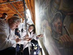 Cerca Trova ¿Se esconde detrás de una pared falsa la obra perdida de Da Vinci?