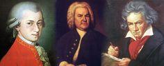 Aqui é uma imagen de Mozart, Bach e Beethoven, que eram ídolos do Pestana.