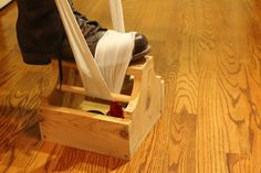 How to Make a Nifty Shoe Shine Box. Using this pin as a reminder to build a shoe shine box