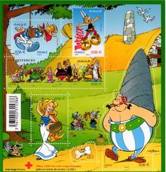 Asterix Stamp cover