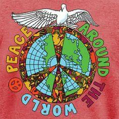 Peace around the world ✌
