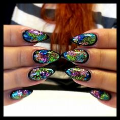 Love these! Too bad Nursing school doesn't allow anything but natural nails :/