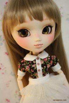Custom PULLIP doll HANA FOREST by Keera, via Flickr