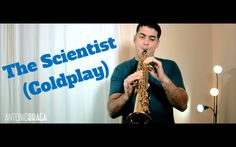 Coldplay The Scientist sax cover video by Antonio Braga (antoniobragasax)