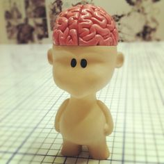 Toy Brain painted