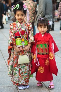 Shichi-Go-San, Japanese matsuri:  is a traditional rite of passage and festival day in Japan for three- and seven-year-old girls and three- and five-year-old boys, held annually on November 15 to celebrate the growth and well-being of young children. As it is not a national holiday, it is generally observed on the nearest weekend.