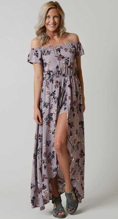 Daytrip Floral Maxi Romper - Women's Clothing | Buckle