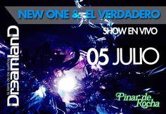 Viernes 05/07/2013 - Dreamland - NEW ONE & EL VERDADERO - Pinar de Rocha