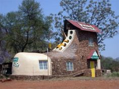 A shoe house