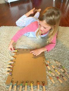 Spaß und einfache Handstärkungsaktivitäten für Kinder im Vorschulalter und …. - Toddlers Diy