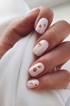 Minimalist Nails, Square Nail Designs, Nail Art Designs, Cute Nails, Pretty Nails, Pinterest Nail Ideas, Nagel Bling, November Nails, 14 November