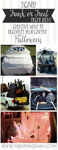 69 best Halloween Trunk and Treat Ideas images on Pinterest in 2018 - trunk halloween decorating ideas