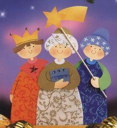 Három királyok ablakkép sablonnal - mivagyunk.lapunk.hu
