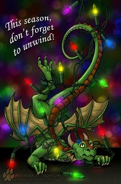 dragon christmas - Google Search