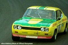 Werner Christmann - Ford Capri RS 2600 - Ford Gerstmann Racing Team - Int. ADAC-500 km Eifelpokalrennen - 1972 Deutsche Rennsport Meisterschaft, round 8 - © Paul Kooyman