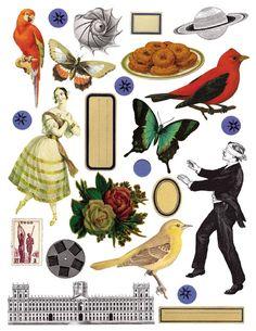 The Joseph Cornell Box Free Collage, Digital Collage, Joseph Cornell Boxes, Collages, Images Victoriennes, Magazine Collage, Collage Illustration, Photocollage, Collage Design