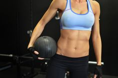 Build a defined six pack with just a few simple exercises
