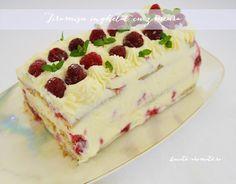 tiramisu inghetat cu zmeura Tiramisu, Parfait, Vanilla Cake, Cheesecake, Deserts, Ice Cream, Food, Cakes, No Churn Ice Cream
