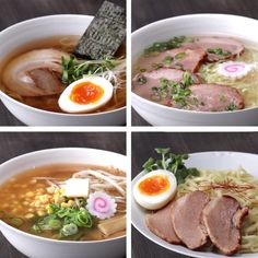Which do you want to eat? 4 ramen to make at home The post Which do you want to eat? 4 ramen to make at home appeared first on Food Monster. Ramen Recipes, Asian Recipes, Cooking Recipes, Healthy Recipes, Recipes Dinner, Japanese Food Recipes, Cooking Ham, Cooking Ribs, Healthy Soup
