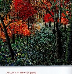 Walks in the Woods - Art Quilts: Noriko Endo