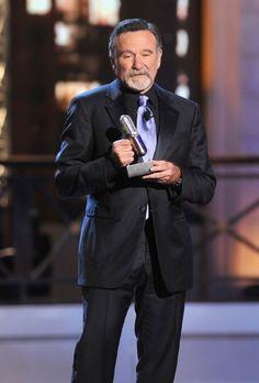 Robin Williams, 28 April 2012