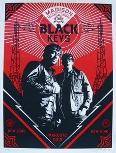 Black Keys by Obey
