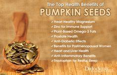 Top 12 Best Magnesium Rich Foods - DrJockers.com Pumpkin Seeds Benefits, Roasted Pumpkin Seeds, Best Magnesium, Calm Magnesium, Healthy Seeds, Cleanse Your Body, Nutrition Guide, Herbal Remedies, Herbalism