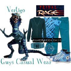 """Primal Rage - Vertigo"" by gamer-geek-chic on Polyvore"