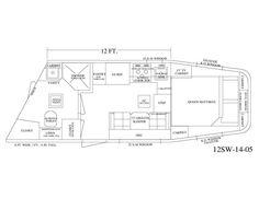 Living Quarter Horse Trailer - 12' Short Wall Floor Plan - EquineRV.com