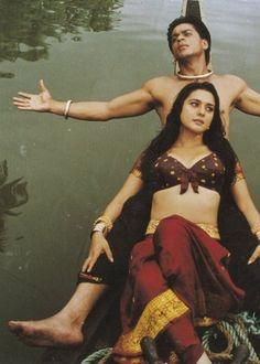 Dil Se... Shahrukh Khan and Preity Zinta