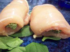 Spinat-Mozarella-Hühnchen - Low Carb Bodybuilding-Rezept. Viel Protein! | Nutriman.de | Rezepte für Bodybuilding, Fitness und Kraftsport