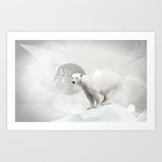 Winter is coming Art Print by Dotiee - $19.00