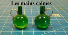 how to: miniature glass jugs from marbles