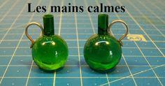 les mains calmes: Bouteilles à porto - Porto bottles from glass marbles