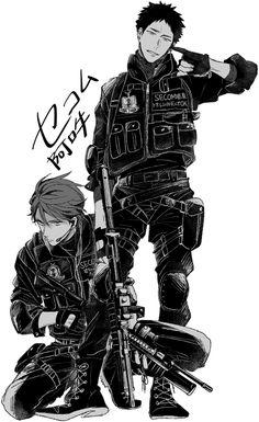Haikyuu!! (ハイキュー!!) - Tooru Oikawa & Hajime Iwaizumi