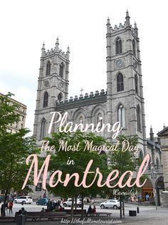 Planning a day trip to Quebec's capitol to celebrate the city's 375th birthday?! Here's your 24-hour itinerary for things to do in Montreal, Canada, including Old Montreal, Mont Royal, gluten-free & vegan eats and much more!