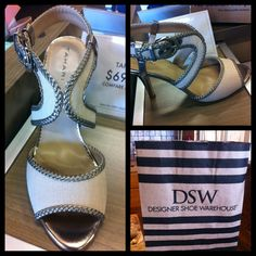 Bridesmaid heels:)! #Tahari #DSW #fashion #wedding #bridesmaid