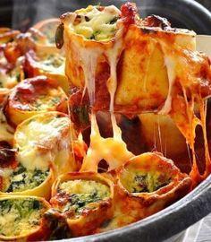 Baked Spinach and Ricotta Rotolo | Food- Mafia