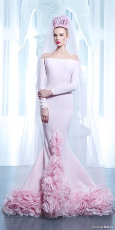 Nicolas Jebran Spring 2015 Couture Collection | Wedding Inspirasi #coupon code nicesup123 gets 25% off at Provestra.com Skinception.com