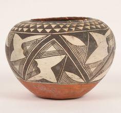 Native American Acoma Pottery Bowl