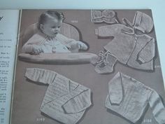 vintage bear brand baby book by luckyrosiescreations on Etsy, $3.50