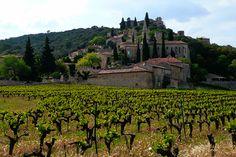 La Roque Sur Cèze, Gard, France. Classé parmi les Plus Beaux Villages de France