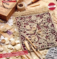 Master class in Irish lace. Comments: LiveInternet - Russian Service Online Diaries