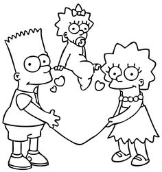 74 Best Simpsony Images Drawings The Simpsons Coloring Pages