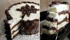 Čokoládovo-kokosový dort Dessert Recipes, Desserts, Tiramisu, Food And Drink, Coconut, Cheesecake, Sweets, Chocolate, Ethnic Recipes