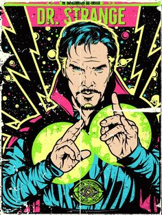 Doctor Strange by Salvador Anguiano