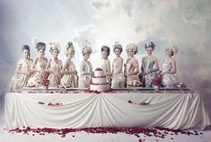 You're My Obsession: Sofia Coppola + A Marie Antoinette Style Cake Fight   Melanie Biehle Art and Design