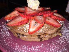 Blackbird Cafe:Long Beach,CA Brownie Pancakes